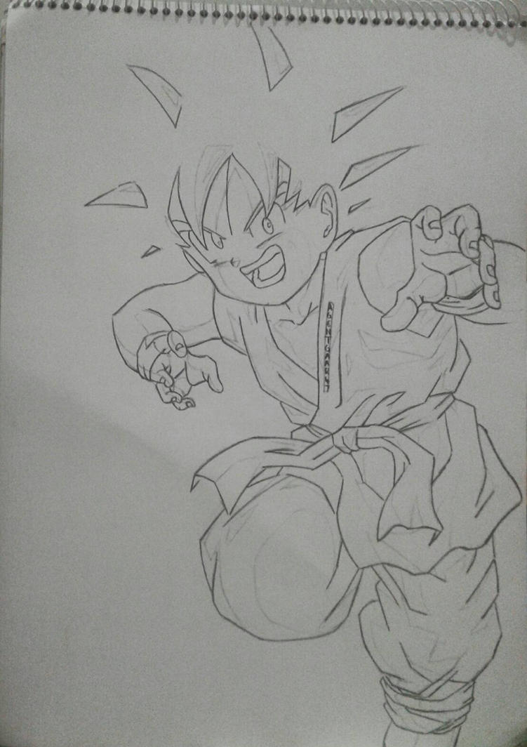 Kid Goku  by AgentGaara47