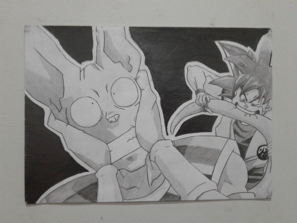Beerus vs Goku - Re-Upload by AgentGaara47