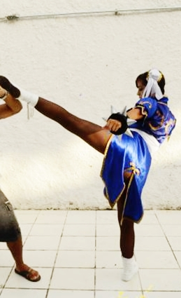 Kick Chun  Li by Marysaura