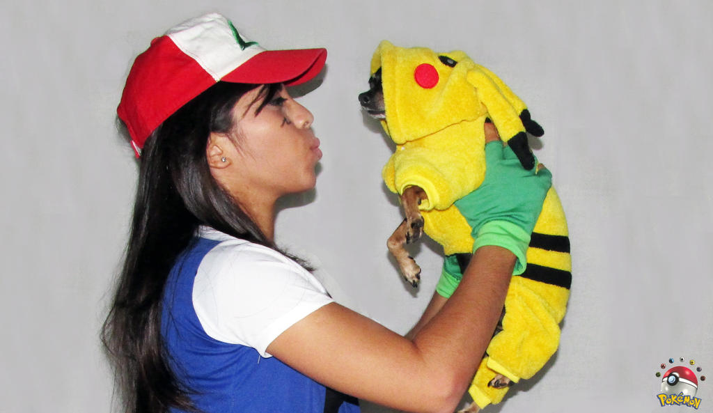 Ash Ketchum and Pikachu - Pokemon Cosplay by Marysaura ...  sc 1 st  DeviantArt : pokemon costumes ash  - Germanpascual.Com