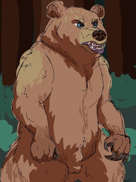 Werebear by Savvy-Cat