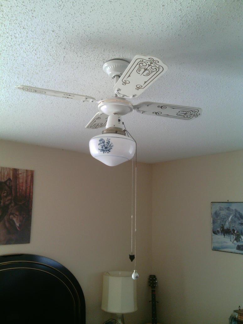 ceiling fan in my bedroom by lucianvaanwolgang on deviantart