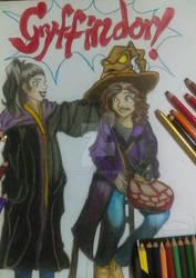 Odessa is Gryffindor