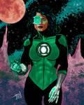 Green Lantern (Jessica Cruz)