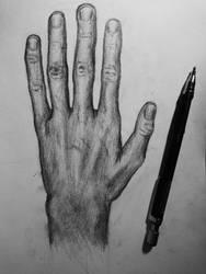 Hand by StryangeFox
