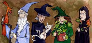 Hogwarts Professors and Pets