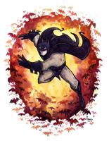 Batman n Bats by CorinneRoberts