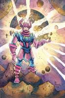 Week 30 Quick Sketch - Galactus by CorinneRoberts