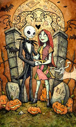 Nightmare Before Christmas by CorinneRoberts