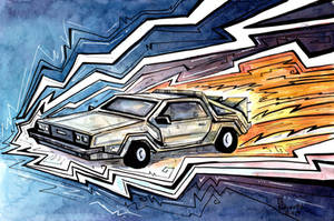 Back to the Future by CorinneRoberts