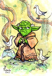 Yoda - Seagulls (Stop It Now) by CorinneRoberts