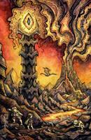 Mordor - Eye of Sauron by CorinneRoberts