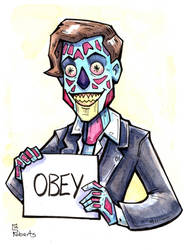 They Live - Sketch