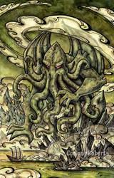 Cthulhu - full painting