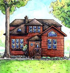 House Portrait - Holiday Commission