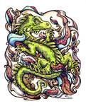 Lizard by CorinneRoberts