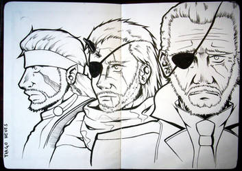 #20 - Big Boss (Metal Gear Solid series) by Neves7seven