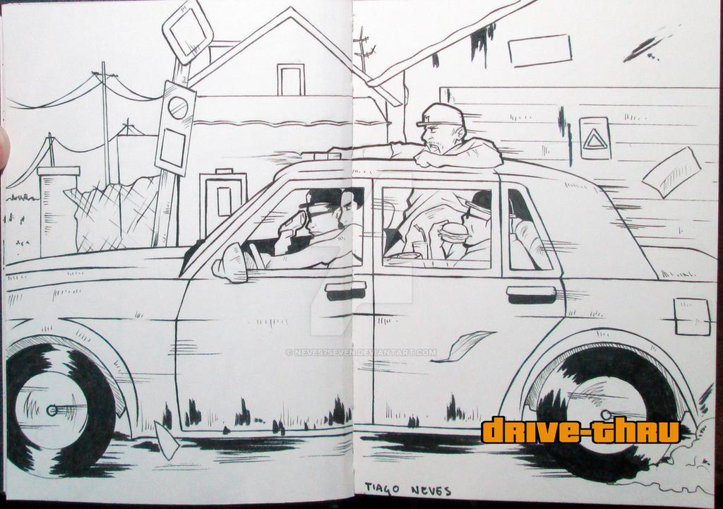 GTA SA-M7 - Drive-Thru by Neves7seven
