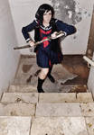 Saya kisaragi : Blood-c 'the last dark' : Cosplay by Moon-Pie-Panda
