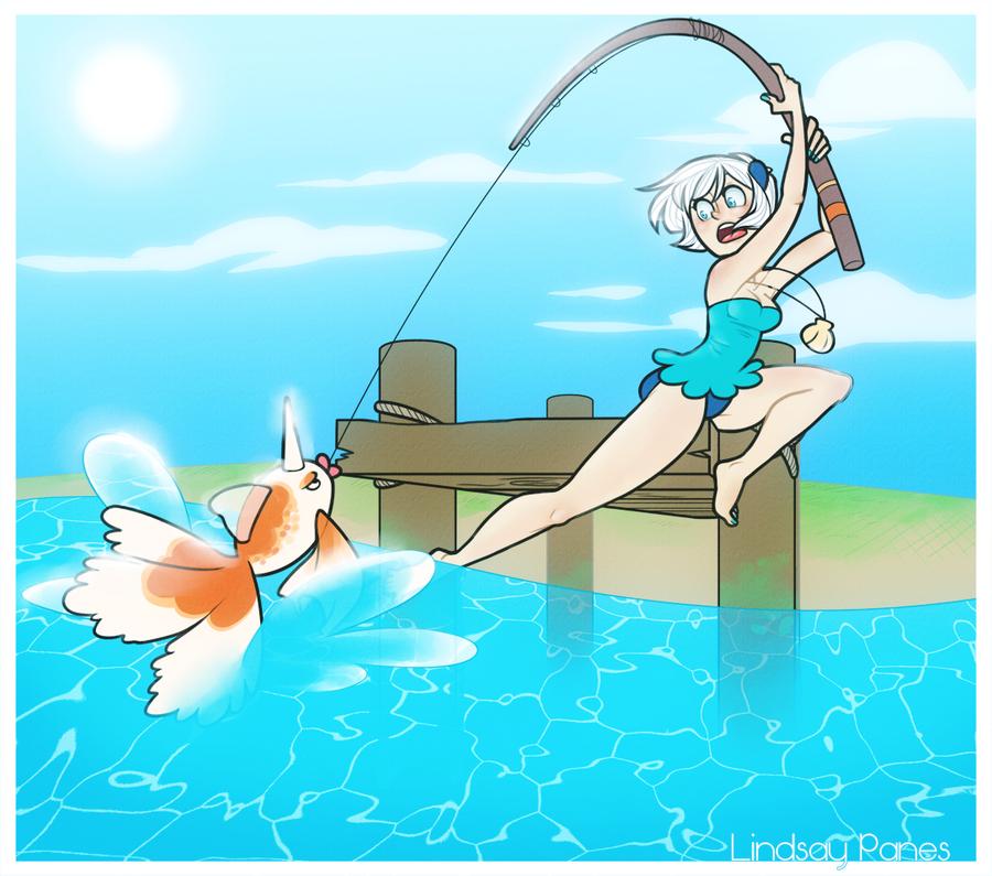 HPM: Goldfishing by LindsayPanes