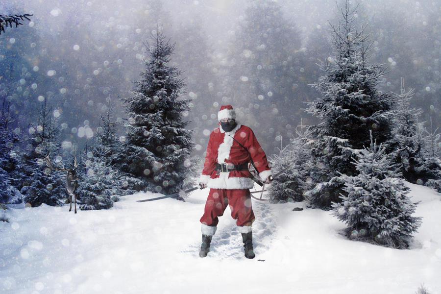 Bad Santa by BadAlki