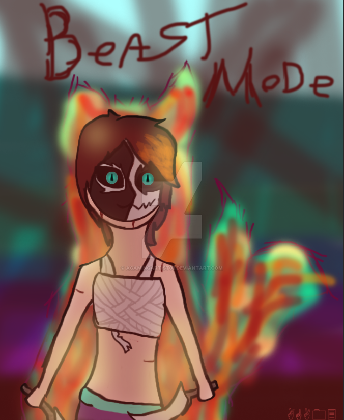 Beast Mode. by agamingartist03