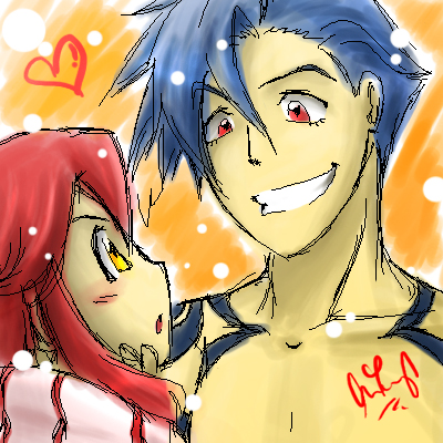 OMG YOKO x KAMINA by cherlye on DeviantArt