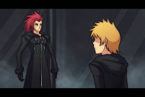 KH 358-2 Days anime preview by cherlye