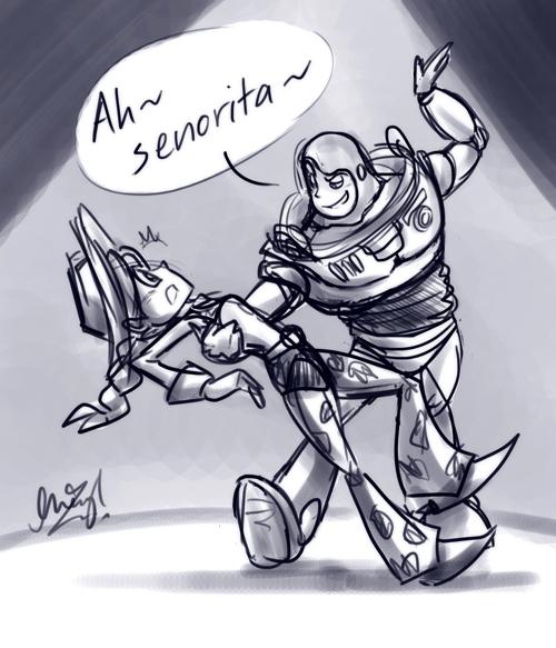 Toy Story: Senorita by cherlye