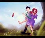 Ariel Kicks Off!