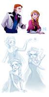 Disney's Frozen - Doodles