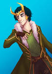 Loki, Agent of Asgard by cherlye
