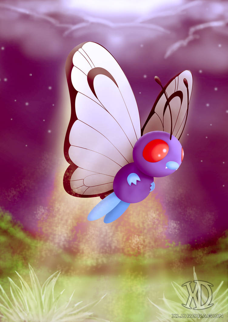 Butterfree by xlordragon