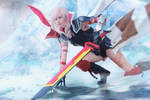 Lightning Cover Cosplay