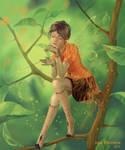 Mandarin fairy