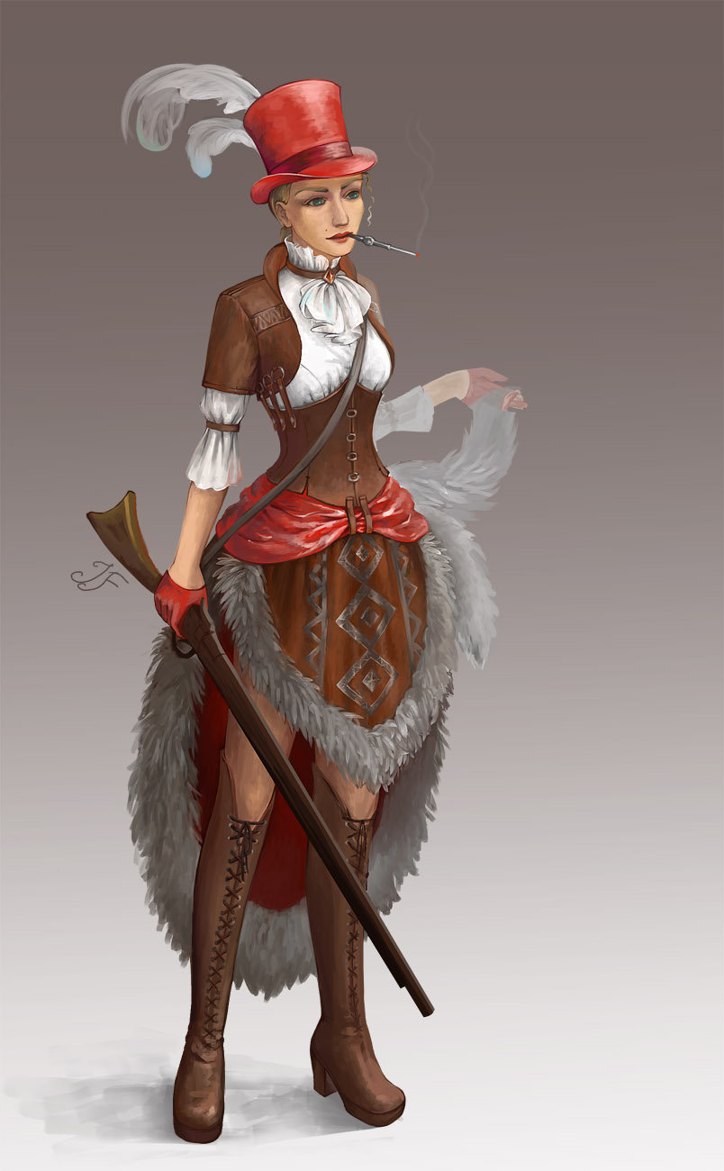 Red Riding Hood by Joya-Filomena