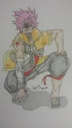 Natsu Dragon Cry by SoraKamijo