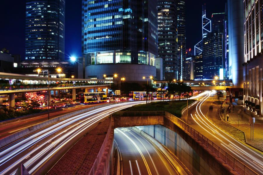 Hong Kong - City Of Light III by castles-609