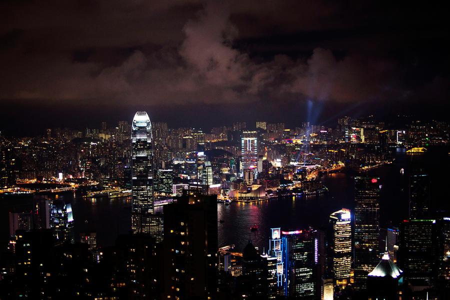 Hong Kong - City Lights III by castles-609