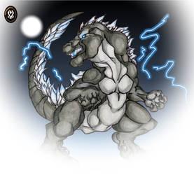 Godzilla The King of Kaiju by DeltaFang8521