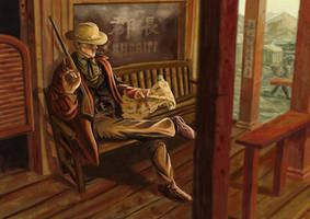 Into the Far West Sheriff by DrStein