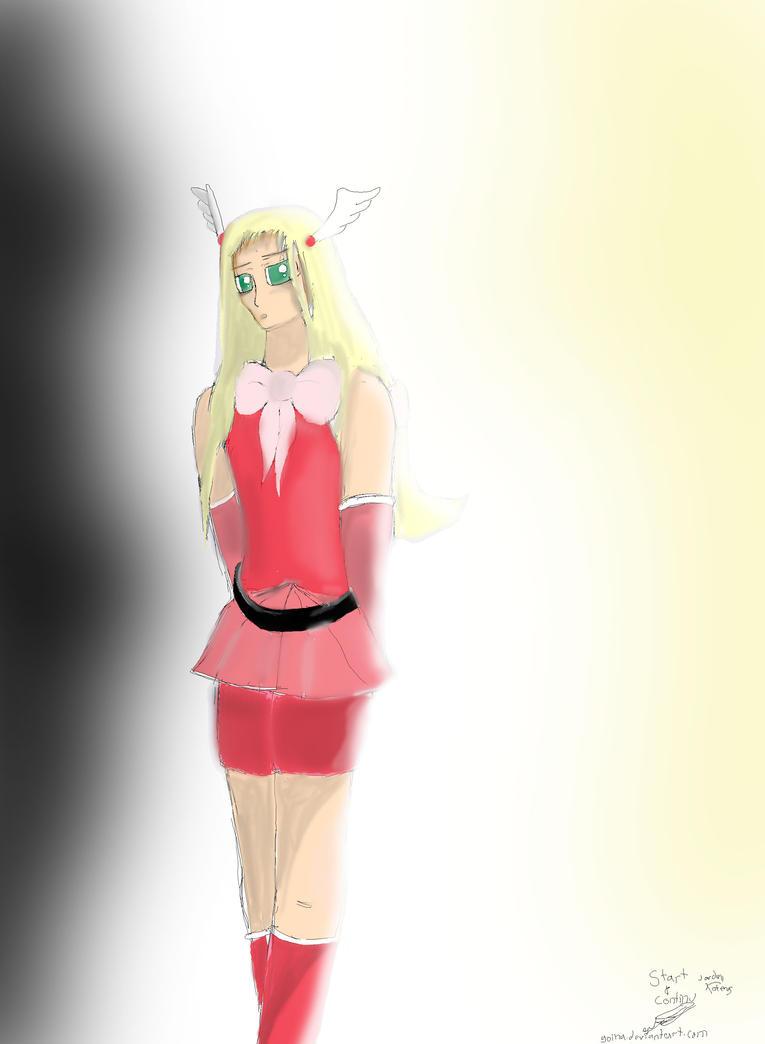 Vocaloid Angela Natale RQ by goina