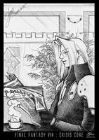 ff7 sephiroth coffee and relax by glen1174