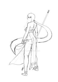 Buttock Warrioress