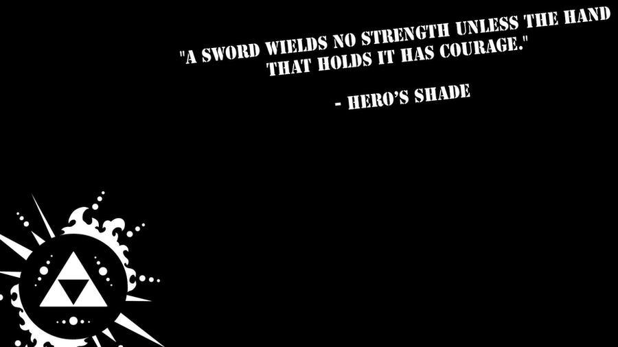Zelda Quotes Adorable Zelda Hero's Shade Wallpaperjackphotoshop On Deviantart