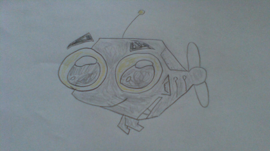 Robot Fish by TheGreenSeaTurtle