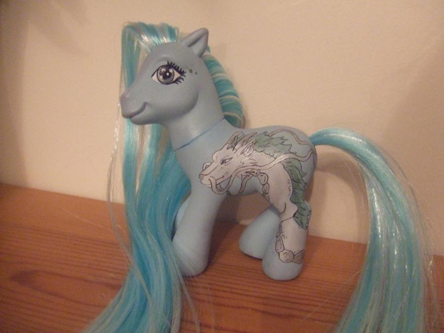 Haku Spirited Away Pony by lilacamy931