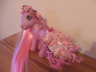 Precious In Pink Pony Custom by lilacamy931