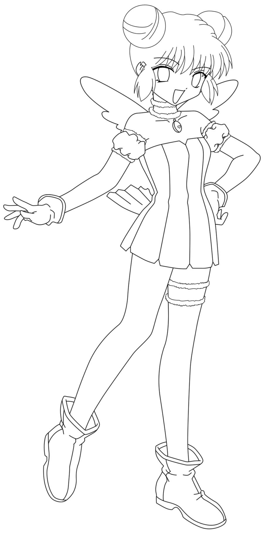 Mew lineart corina by sweetamberkins on deviantart for Mew coloring pages