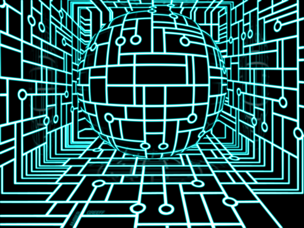 circuit board pattern tron